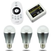 MiLight E27 9W Smart Light Starter Kit with Bridge, Remote and 3 Bulbs