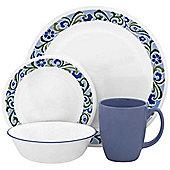 Corelle Livingware Serenity 16 Piece Dinnerware Set