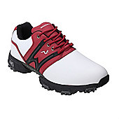Woodworm Tour Ii Golf Leather Shoes - Red