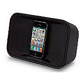 TDK TAC7221 App-Enhanced Portable Stereo Speaker (Black) for iPod and iPhone