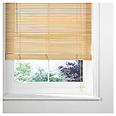 Wood Venetian Blind, 25Mm Slats, Natural 180Cm