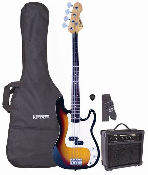 Encore PK40 Blaster Pack Bass Pack - Sunburst