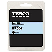 Tesco H150 remanufactured Black Printer Ink Cartridge (Compatible with printers using HP 338 Cartridge)