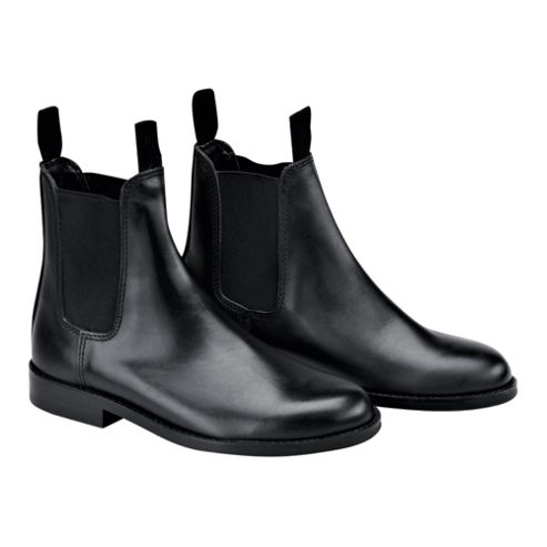 Tesco Childrens Black Jodhpur Boots Size 33/13