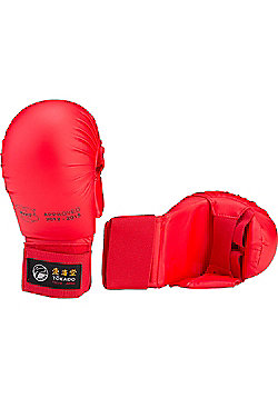 Tokaido WKF Approved Gloves With Thumb - Red