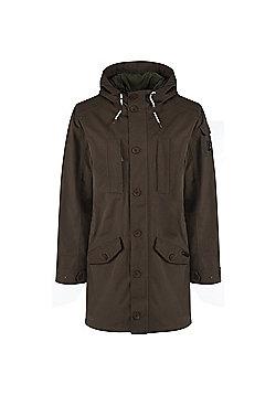 Craghoppers Mens 364 Hooded 3 in 1 Jacket - Khaki