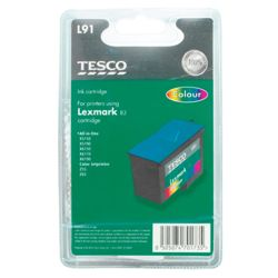 Tesco L91 Colour Printer Ink Cartridge (Compatible with printers using Lexmark 83 Cartridge)