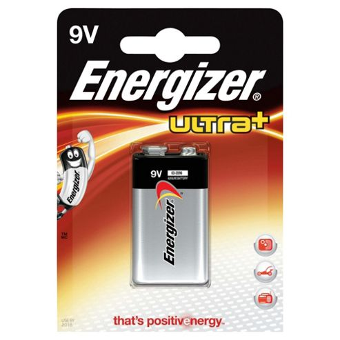 Energizer 9V UltraPlus Battery Alkaline