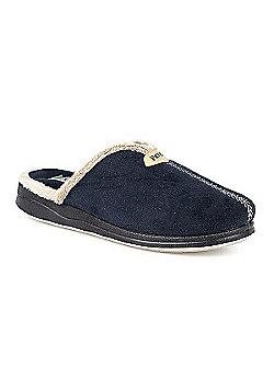 Pavers Mule Slipper Beige - 2 - Blue