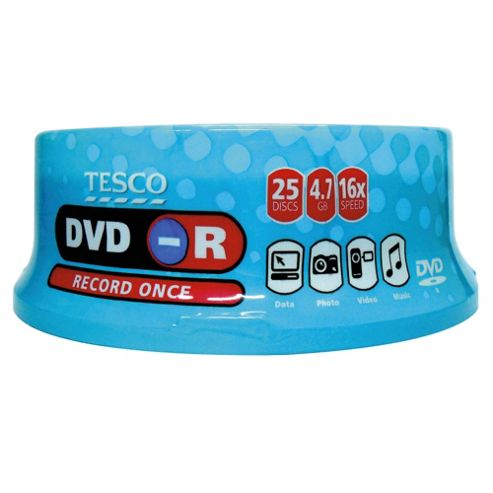 Tesco DVD-R spindle - pack of 25