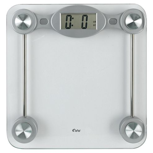 Weight Watchers Glass Lcd Precision Electronic Scale