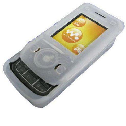 U-bop BoldFLEX Flexible Body-Skin Case and StampWIPE White - For Sony Ericsson W760 W760i
