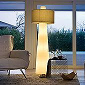 Lucente Up Outdoor IP44 Floor Lamp in Ivory