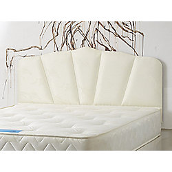 Bodyease Shell Upholstered Headboard - Double