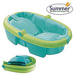 buy summer infant folding bath tub from our bath tubs range. Black Bedroom Furniture Sets. Home Design Ideas