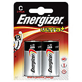Energizer Ultra+ C 2 Pack Batteries