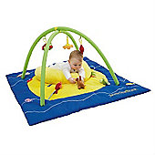 Tippitoes Tummy Time Island Playmat and Gym