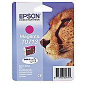 Epson T0713 Printer Ink Cartridge - Magenta