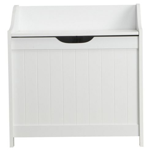 Southwold White Wood Tongue & Groove Style Storage Unit