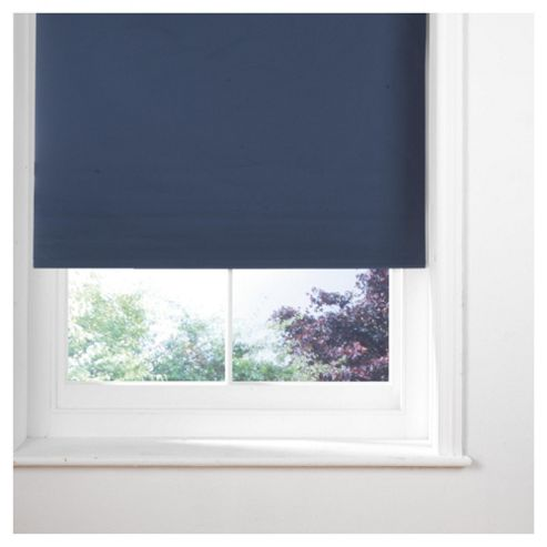 Sunflex Thermal Blackout Blind, Navy 90cm