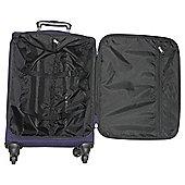 Tesco Lightweight 4-Wheel Suitcase, Purple Small