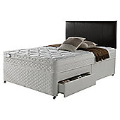 Silentnight Miracoil Comfort Memory 2 Drawer  Divan - Super king (6ft)