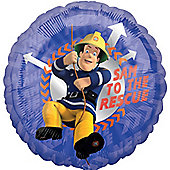 "Fireman Sam Balloon - 18 "" Foil (each)"