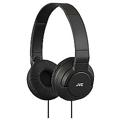 JVC On-ear Black JVC HA-S180 Blk Deep Bass