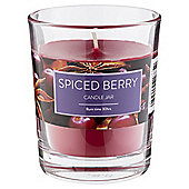 spiced berry candle in jar