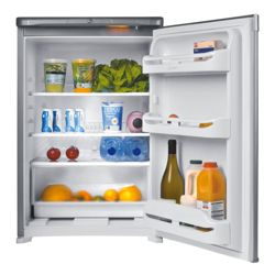 Indesit TLA1S silver under counter larder fridge