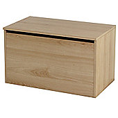 Ottoman - Storage Chest / Toy Box - Beech