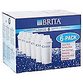 BRITA Classic 6 Pack Water Filter Cartridges
