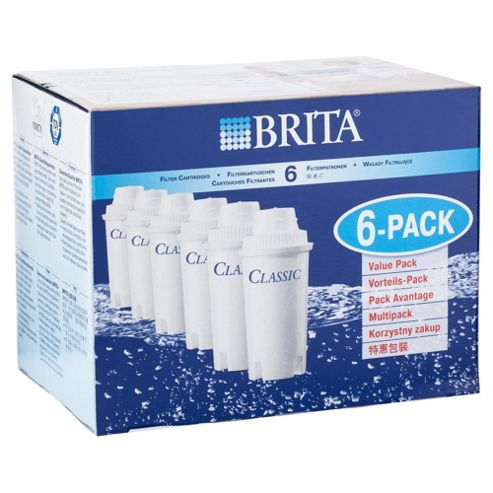 BRITA Classic Water Filter Cartridges, 6-Pack