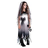 Graveyard Bride - Teenager Costume 9-12 years