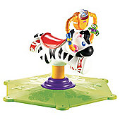 Fisher-Price Bounce & Spin Zebra Green