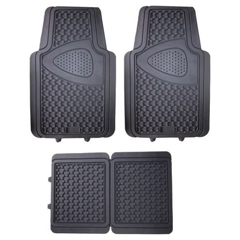 Tesco Car Mats, 4 Set (Rubber)