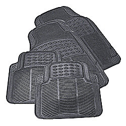 Buy Tesco Car Mats 4 Set Rubber From Our Car Mats Range