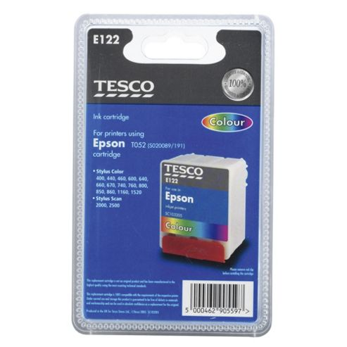 Tesco E122 Printer Ink Cartridge - Tri-Colour