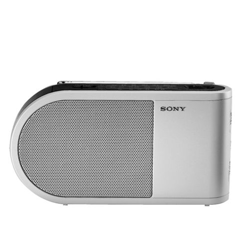 Sony Portable Radio Black/White