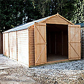 15ft x 10ft Windowless Overlap Apex Workshop