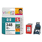 HP 348 Colour Photo Printer Ink Cartridge (C9369EE)