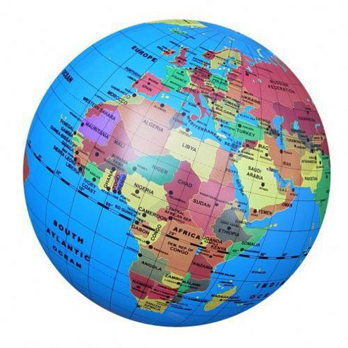 Fact Finders Inflatable Globe (30 cm.)