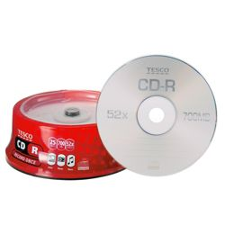 Tesco CD-R Spindle Pack of 25