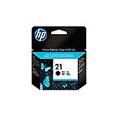 HP 21 (C9351AE) Printer Ink Cartridge - Black