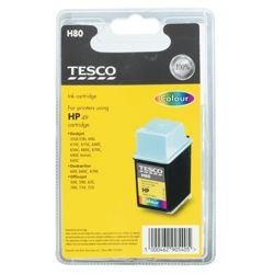 Tesco H80 remanufactured Colour Printer Ink Cartridge (Compatible with printers using HP 49 Cartridge)