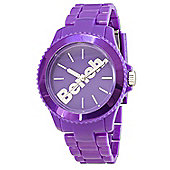 Bench Ladies Purple Resin Bracelet Watch BC0355PP