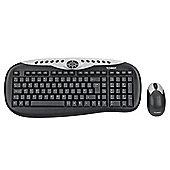 Technika 2.4 GHz Wireless Deskset (Keyboard and Optical Mouse)