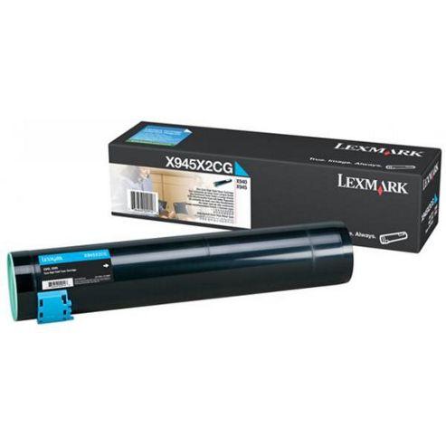 Lexmark X940E, X945E Toner Cartridge (22K) - Cyan