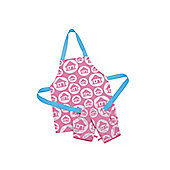 ELC Apron and Oven Gloves - Pink