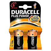 Duracell 2 Pack C Batteries